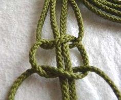 makrama - pasek ze sznurka (2)