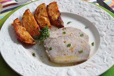 Las Recetas de Marichu.... y las mias: Lomo de Cerdo asado, con Patatas adobadas