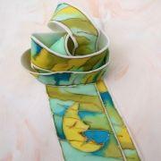 Kravata hedvábná. Silk Painting, Ties, Outdoor Decor, Handmade, Tie Dye Outfits, Hand Made, Neck Ties, Tie, Handarbeit