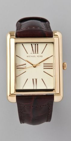 great everyday classic watch with a modern twist - Michael Kors $180