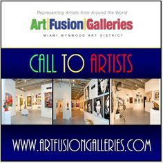 Call To Artists for Submissions! - ONGOING - http://www.theartlist.com/art-calls/call-to-artists-for-submissions - Are you an emerging to mid-career artist interested in representation in one of Miami's preeminent galleries? Art Fusion Galleries invites all emerging to mid-career artists from around the world to submit their artwork for an exciting opportunity to participate in our upcoming 2014/2015 Group-show exhibitions.