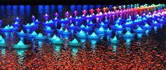 Lightecture | Voyage, recuerdos de luz flotando en el agua