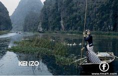 Tasha Tilberg by Yelena Yemchuk for Kenzo Spring 2006 Campaign