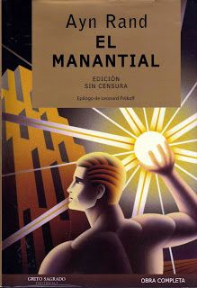 """The Fountainhead by Ayn Rand. -""""the question isn't who is going to let me, it's who is going to stop me."""""""