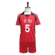 Introducing UpdateClassic Nekoma High School Volleyball Uniform Kenma Kozume Short Sleeve Jersey Sportswear M Height160165cm. Great Product and follow us to get more updates!
