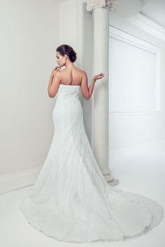 Chara - A-Line Sweetheart Sleeveless Wedding Dress - Ophelia Contessa White on White White Wedding Dresses, Wedding Gowns, Chara, One Shoulder Wedding Dress, Collection, Fashion, Wedding Frocks, Moda, Bridal Gowns
