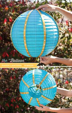 Hot Air Balloon Diaper Cake Tutorial + Free Printables! // Hostess with the Mostess®