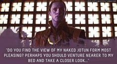 Yes please ♥ Loki's Dirty Whispers