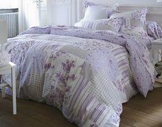 linge de lit patchwork romantique | becquet