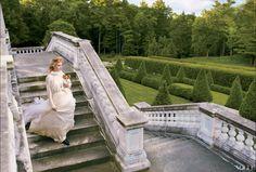 Grace Coddington and Annie Lebowitz for Vogue
