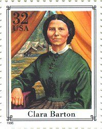 "I'm reminded of my mother, who was also a nurse named Clara. Teacher, nurse, Red Cross founder Clara Barton: ""I have an almost complete disregard of precedent, and a faith in the possibility of something better...I go for anything new that might improve the past."""