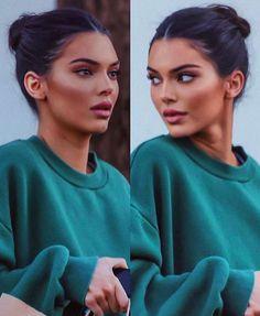 fresh makeup look Kendall Jenner Kendall Jenner Make Up, Looks Kylie Jenner, Kendal Jenner Hair, Kendall Jenner Eyebrows, Kendall Jenner Selfie, Kendall Jenner Workout, Kendall Jenner Modeling, Kylie Jenner Makeup, Kendall Jenner Outfits