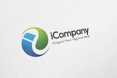 i Company Logo Design by Shahjhan on @creativemarket