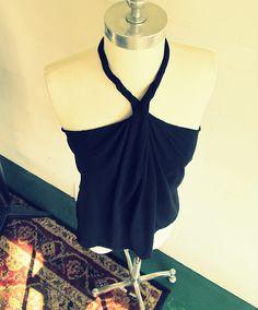 Wobisobi: No Sew, DIY Tee-Shirt Halter #2  http://wobisobi.blogspot.com