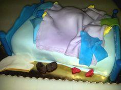 addio al nubilato #torta della pasticceria La Mimosa di http://www.simocakedesigner.it