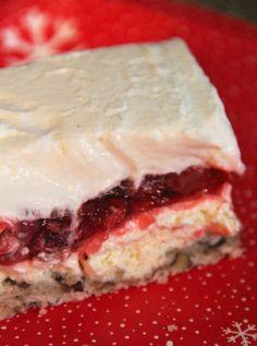 Strawberry Sigh Layered Dessert