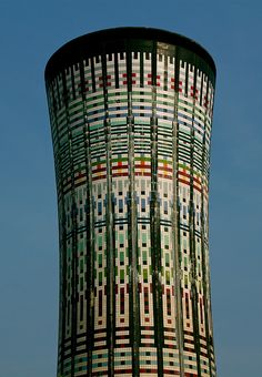 Water tower.
