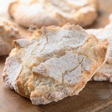 Gluten Free Almond Cloud Cookies