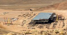Duncan Sinfield posted a video on YouTube showing the world's largest battery factory, the Tesla Gigafactory. Tesla had said that the Gigafactory will be up to 1 million square meters (10 million square feet) and one or two stories when completed.