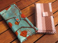 Making this today too. And so, I sew: Nappy Wallet Tutorial