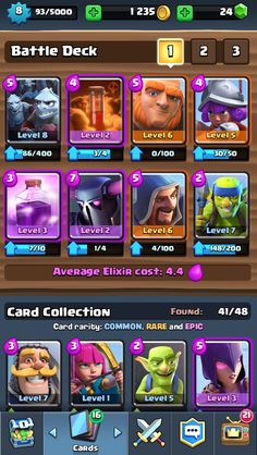 Best Clash Royale Decks Of The Week: Good Decks For Arena 3 4 5 and  http://ift.tt/1STR6PC