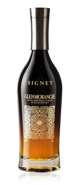 Signet by Glenmorangie    Aroma  A strong Aruba espresso fused with a treacly plum pudding, rich with sherry, and candied orange peel.  Taste  A contrast of rich sweetness with an explosive crackle of sizzling spices and bitter mocha.  Finish  A fresh spring-like breeze of mint with a bright citrus lemony-green quality.  Colour  Deep amber - Single Malt Scotch Whisky