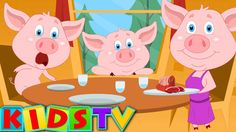 This Little Piggy Nursery Rhyme And Kids Songs Nursery Rhyme Theme, Nursery Rhymes Songs, Songs For Toddlers, Kids Songs, Circle Time Songs, This Little Piggy, Kids Tv, Educational Videos, Stories For Kids