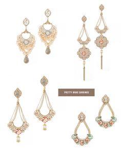 Pretty boho earrings from Delilah K