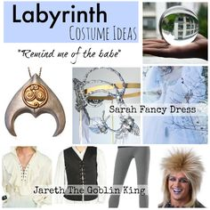 #Labyrinth movie costumes for Halloween and theme parties. If you're having an 80s theme movie party - you can't forget David Bowie.