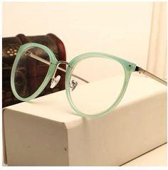 Barato Decoração do Vintage óculos ópticos quadro miopia rodada metal homens…