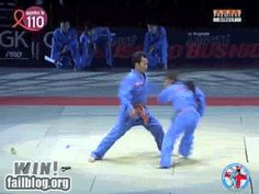 This martial artist. | 35 GIFs Of Individuals Who Really Did Nail It