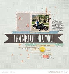 I really love the whole vibe and color palette that the Antiquary kits have this month. And I especially felt like the different kits mixed very well together! Here is my main kit only layout&#8230…
