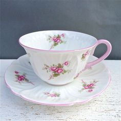 shelley bridal rose tea cup