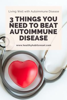 Many people have successfully reversed their autoimmune symptoms, but not without these 3 things! #autoimmunediseasetreatment #livingwellwithautoimmunedisease #autoimmunediseasetips #autoimmunediseasediagnosis Chronic Fatigue Syndrome, Chronic Illness, Chronic Pain, Fibromyalgia, Chronic Disease Management, Pain Management, Arthritis Treatment, Thyroid Health