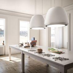 10 fantastiche immagini su cappa cucina isola | Kitchen range hoods ...