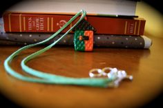 Necklace Little House by hairofrhino on Etsy, $15.99
