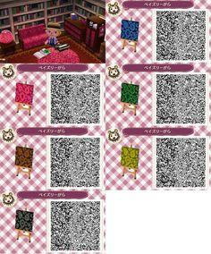 ACNL/ACHHD QR CODE-Cool Fabric Designs