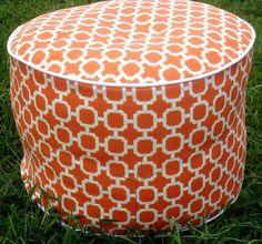 Floor cushion ottoman
