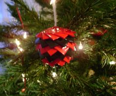 Duct Tape Ornament/Decoratio - a DIY for when you have done every other DIY out there!  LOL!