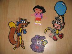Dora & friends hama beads by  libellule3592