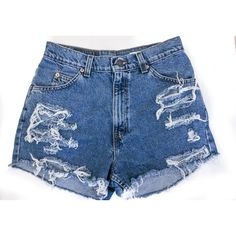 Distressed Mid to High Waisted Cut Off shorts/all sizes/jean... ($24) ❤ liked on Polyvore featuring shorts, bottoms, pants, denim shorts, black, women's clothing, black shorts, high-waisted shorts, high-waisted denim shorts and destroyed denim shorts