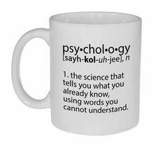 Psychology Definition Coffee or Tea Mug