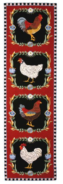 26 Country Rooster Decor Cushion Floor Mat Kitchen