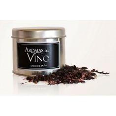 Sales aromáticas con vino tinto y semillas de uva