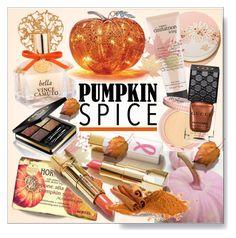 """Pumpkin Spice Beauty  Make Up * Pink & Orange"" by calamity-jane-always ❤ liked on Polyvore featuring косметика, Vince Camuto, Nesti Dante, Paul & Joe Beaute, philosophy, Paul & Joe, Gucci, Beauty и pumpkinspicebeauty"