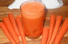 El consiguió resultados increíbles bebiendo solo jugo de zanahoria