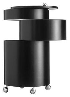 Scandinavia: Drinks Trolley by Verner Panton, Bar Cabinet Furniture, Home Bar Cabinet, Drinks Cabinet, Mobile Bar, Container Design, Modern Furniture, Furniture Design, Space Furniture, Danish Design Store