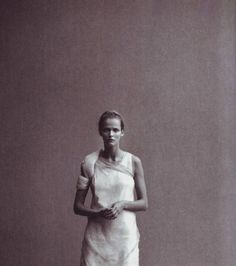 peter lindbergh for vogue italia, 1999