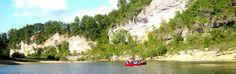 kayaking the Ozarks