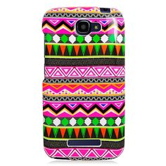 Alcatel One Touch Fierce 2/7040T Tribal Pattern Case #PH-PIACTL7040TG177
